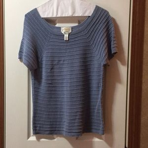 Talbots short sleeves sweater. Size small.